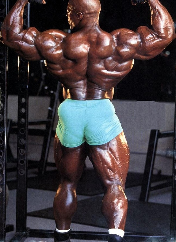 Ronnie Coleman en action